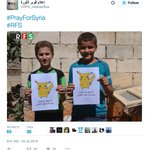 Children in Syria are seen holding Pokemon in a new campaign that tells the world to go and find them. https://t.co/8oQS596jAk
