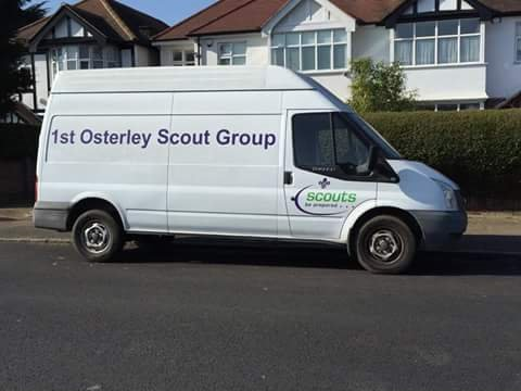 1st Osterley Scout transit van stolen. Spotted recently in #Teddington/Whitton area. Have you seen it? https://t.co/S4IUp5kllk
