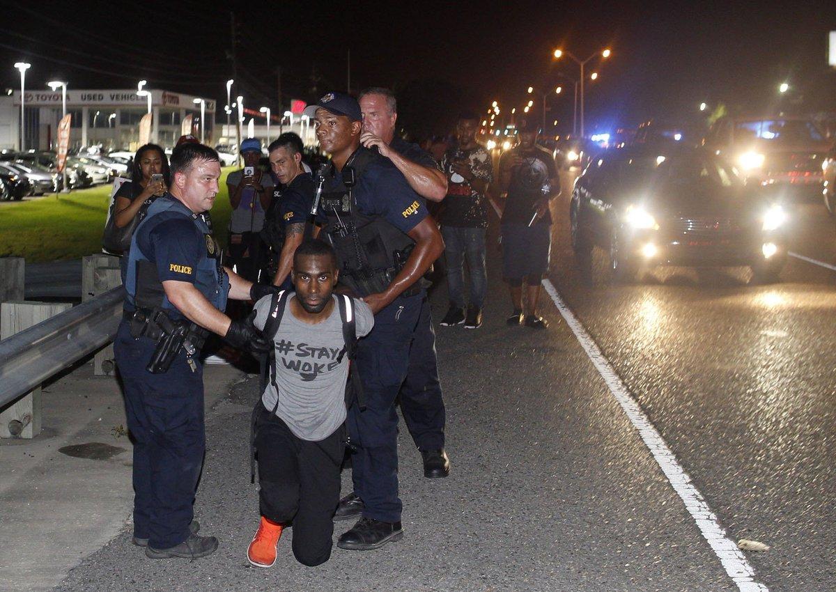 Black Lives Matter leader arrested in Baton Rouge