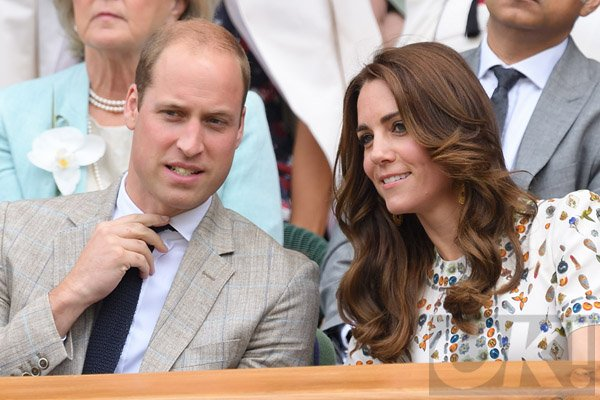 Kate Middleton and Prince William head to Wimbledon with Benedict Cumberbatch: