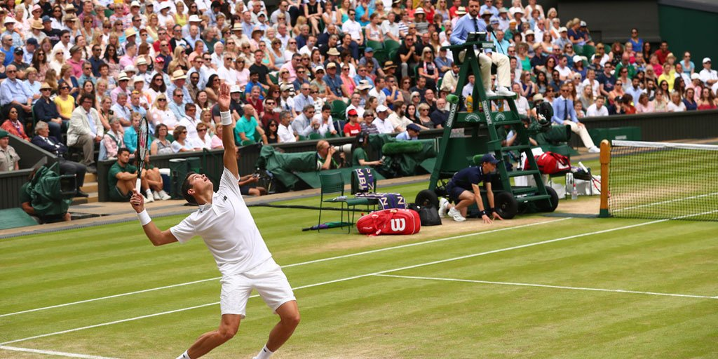 Well played, @milosraonic. You've made Canada proud. #TeamMilos #Wimbledon https://t.co/9CwUCTiW5G