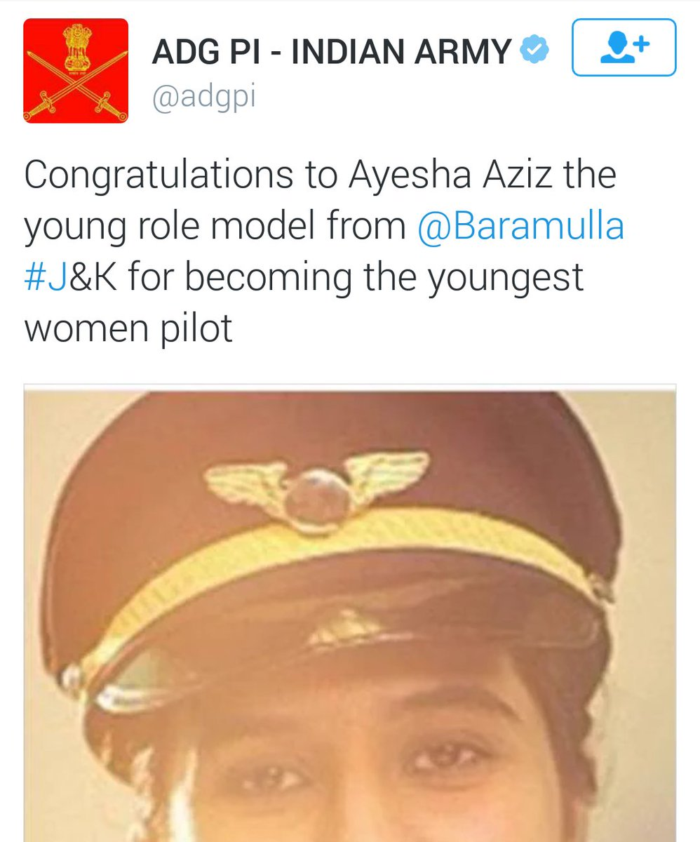 So, the Army congratulates the youngest woman pilot. This is how a bhakt responds (but of course) https://t.co/Nb0iUoe2su