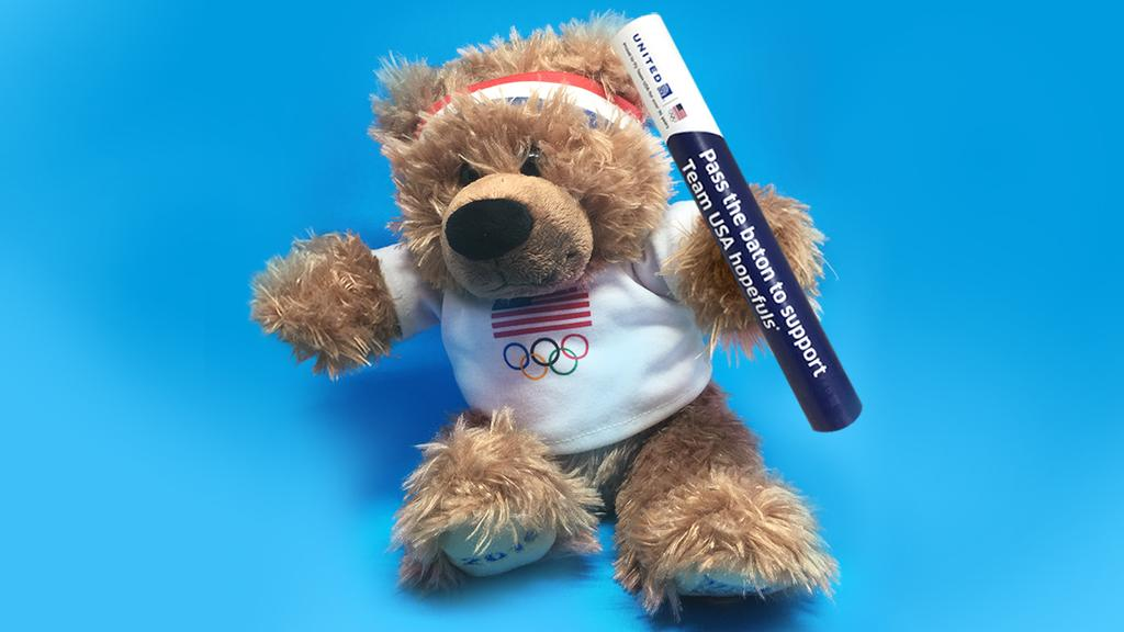 BenFlyin wants you to pass it on! Support TeamUSA hopefuls w/ every UABatonDonation tweet