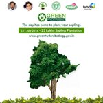 RT @MinIT_Telangana: For a #GreenHyderabad and Greener Telangana, participate in #HarithaHaram today! https://t.co/Y8leESWy0R