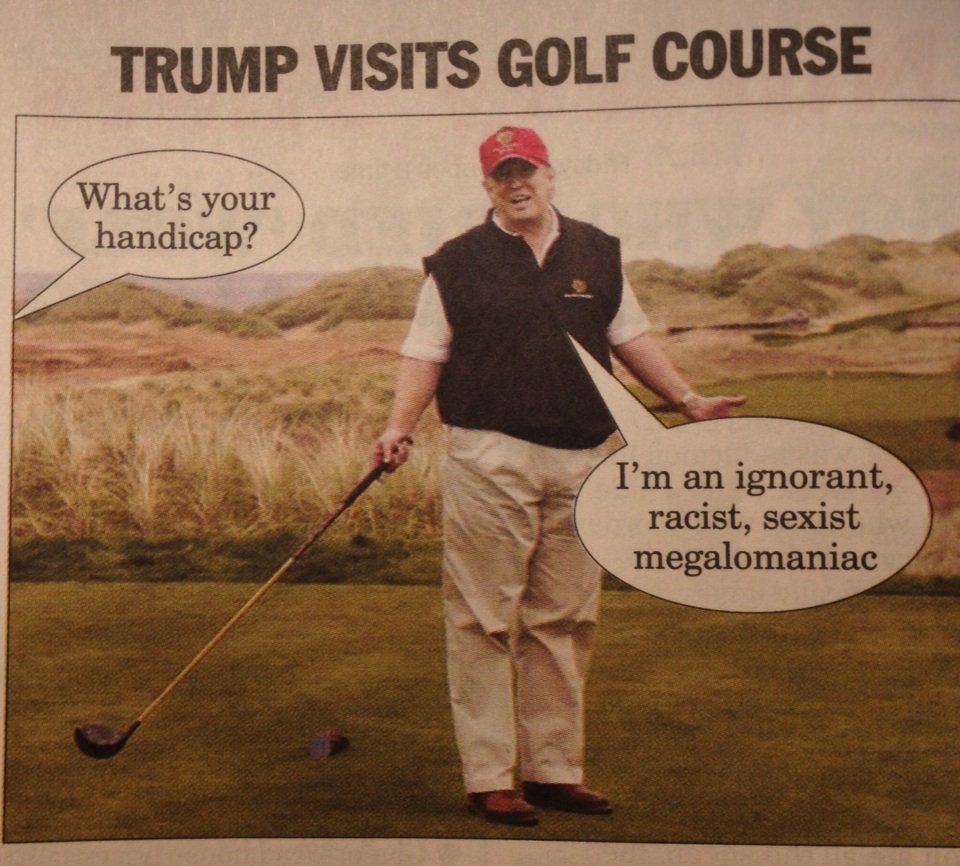 Trumptastic cartoon in Private Eye https://t.co/CkvjumMTGN