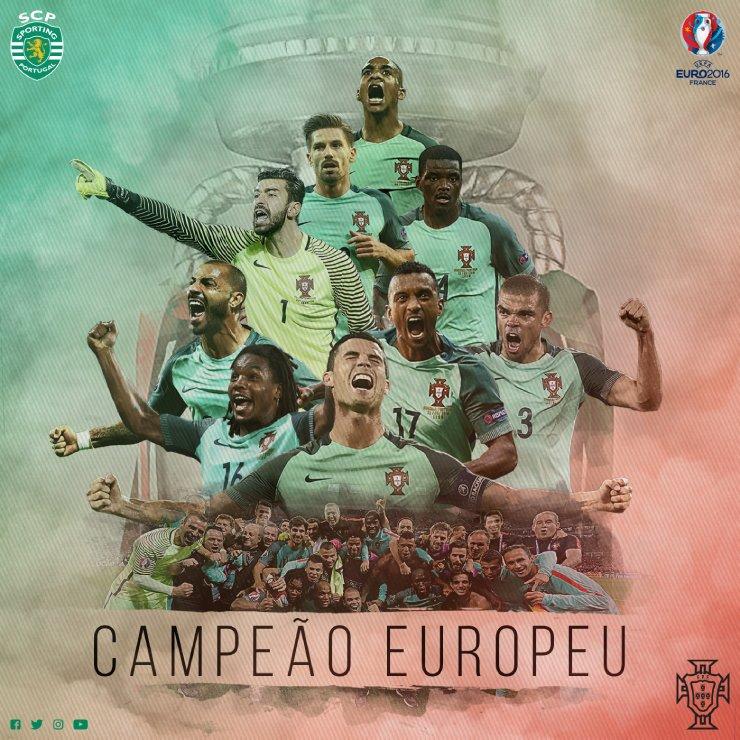 Obrigado, Heróis de Paris! Obrigado, @selecaoportugal! CAMPEÕES EUROPEUS!!!!!!!! #CampeõesDaEuropa #Euro2016Final https://t.co/10lj6wH0Jv