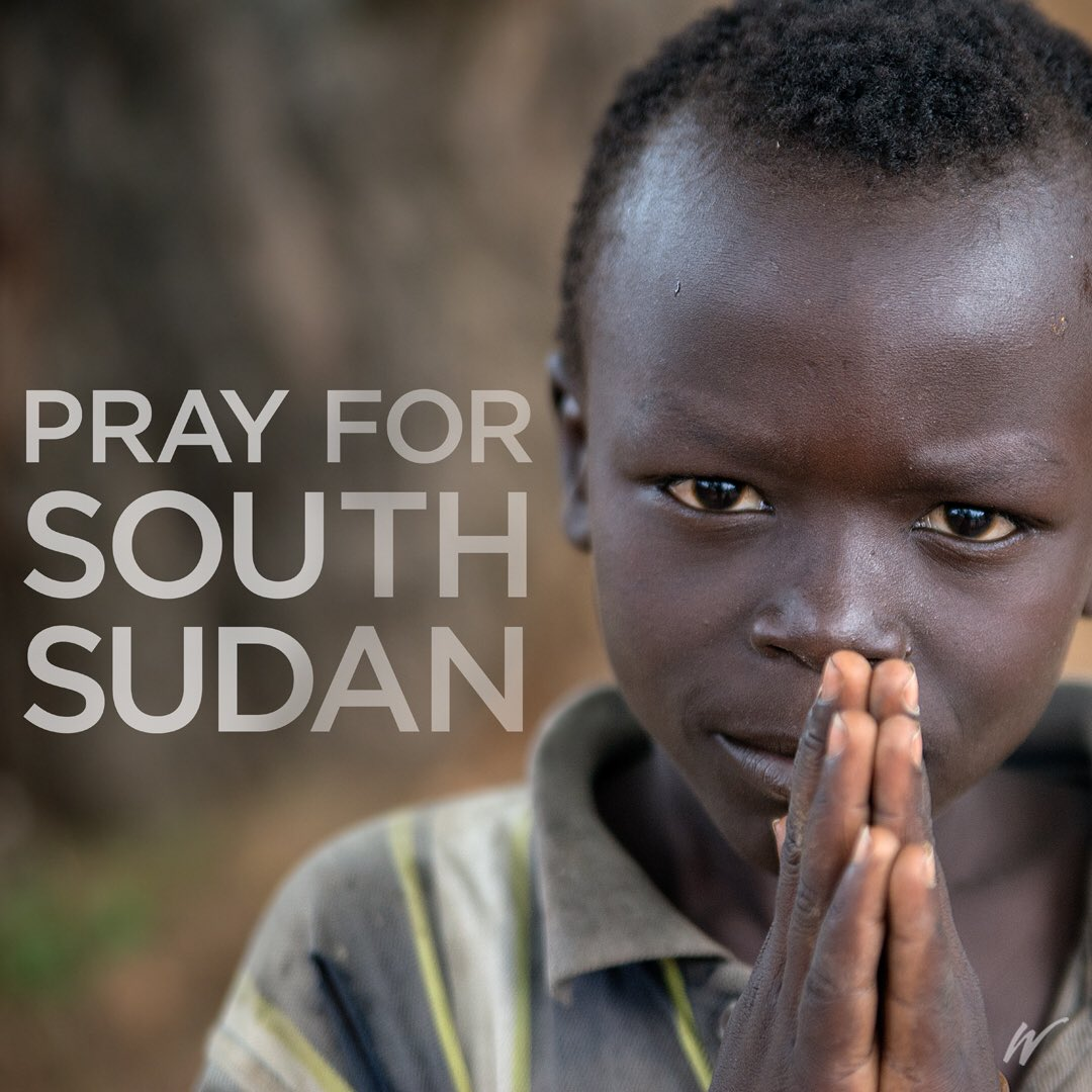"""War broke out again in this beautiful country. Thx for praying for us."" Ps Joe, Watoto Church, S. Sudan #SouthSudan https://t.co/aliubtXWz2"