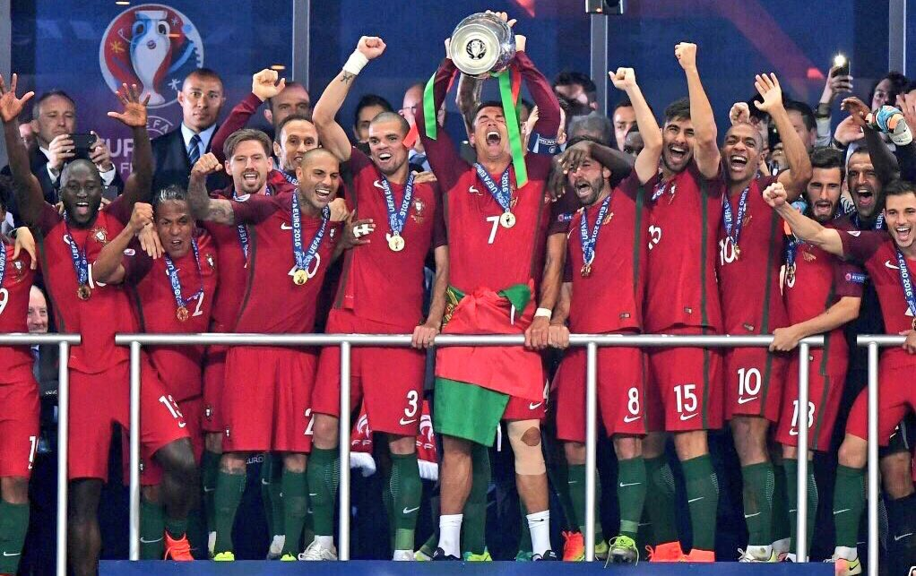 #Portugal are crowned champions of Europe after a fantastic finish from Eder in ET! https://t.co/iA2uwIRQkq