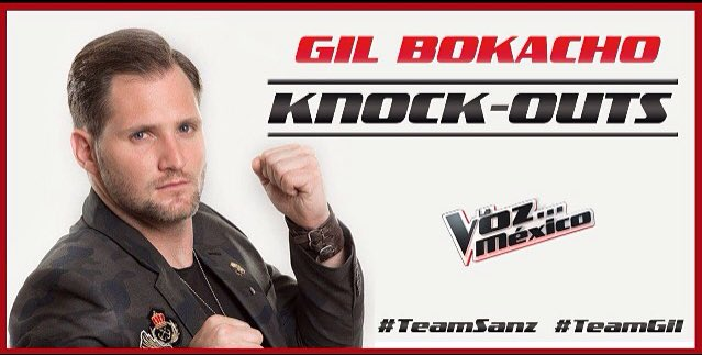 8pm! Ahí nos vemos! Manden buena vibra ! Va por ustedes que apoyan #knockoutslvm #gilbokacho #lavozmexico #teamsanz https://t.co/t08rCcj7Sm