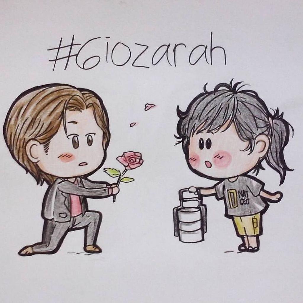 """You deserve flowers."" #GioZarah moment by @pradipta19 https://t.co/FAj466gvmv https://t.co/CI5AUpAqGO"