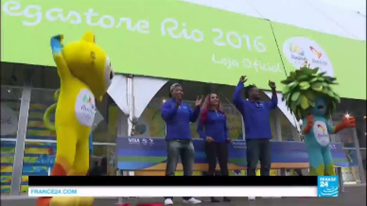 VIDEO -  Rio 2016: city prepares for summer Olympics amidst protests and security and…