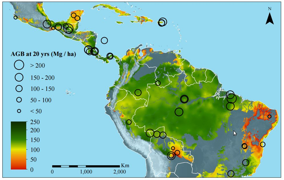 Research show regrowing tropical #forests has significant potential to combat #climatechange https://t.co/TfoTkCJBcn https://t.co/lsyKRFwvA7