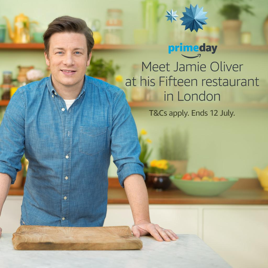 RT @AmazonMusicUK: Play @jamieoliver's #Prime playlist by 12/7 for a chance to meet him + win dinner for four: https://t.co/YzlSrH8Nop http…