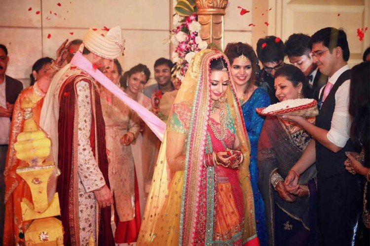 Divyanka Tripathi Mehndi Ceremony : In pictures inside divyanka tripathi and vivek dahiya s grand