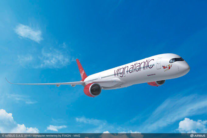 FIA 2016: Virgin Atlantic takes 12 A350-1000s