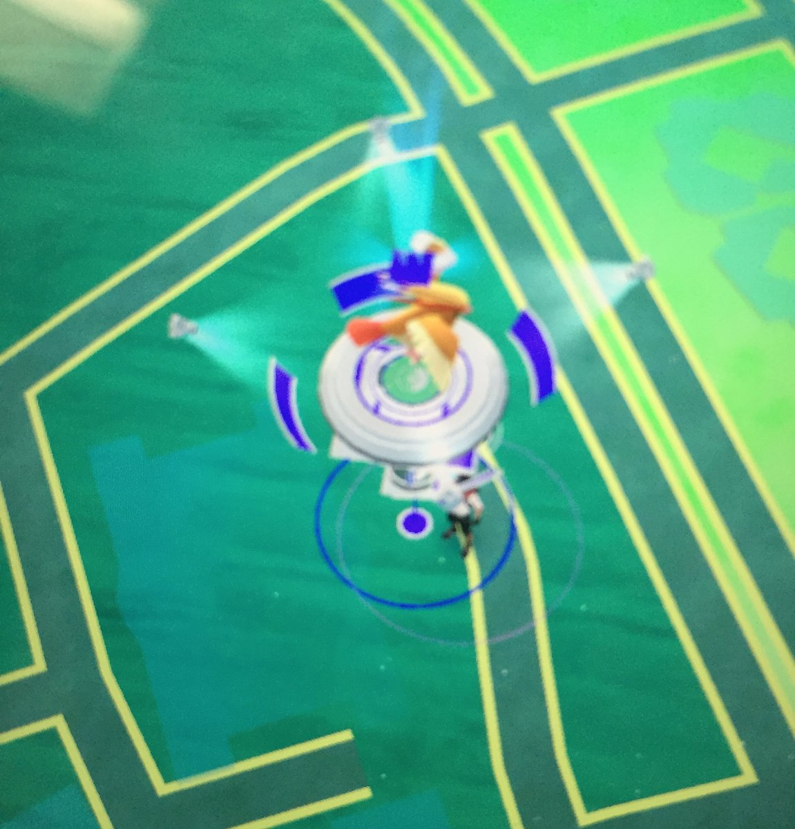 Hey #PokemonGo trainers... You have to be at level 5 to battle at the FPD gym - no need to enter the lobby #goodluck https://t.co/deoIaUGqcn