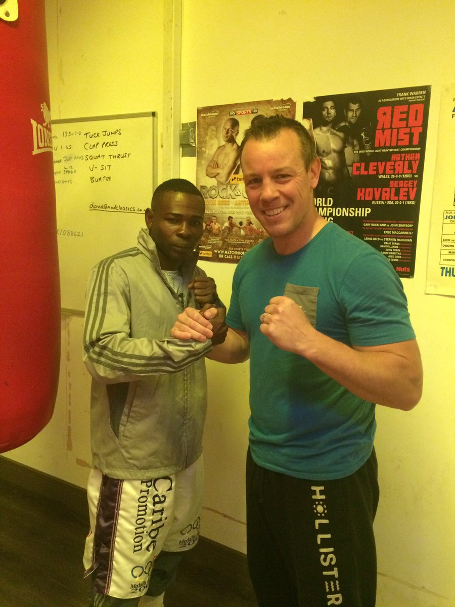 Good to have @RigoElChacal305 in our gym @ufit_fitness tonight! Welcome to Cardiff