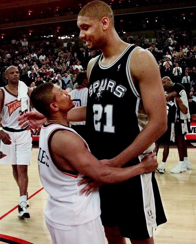 Congrats to Tim Duncan, fellow #WFU alum on his #NBA retirement! You really put in work big fella https://t.co/US1FUxSxdg