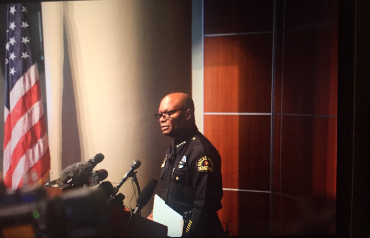 "[On Dallas Love] ""They took an inner city kid like me and made me their police chief."" - @DPDChief @DallasPD https://t.co/SxMwntEGR2"