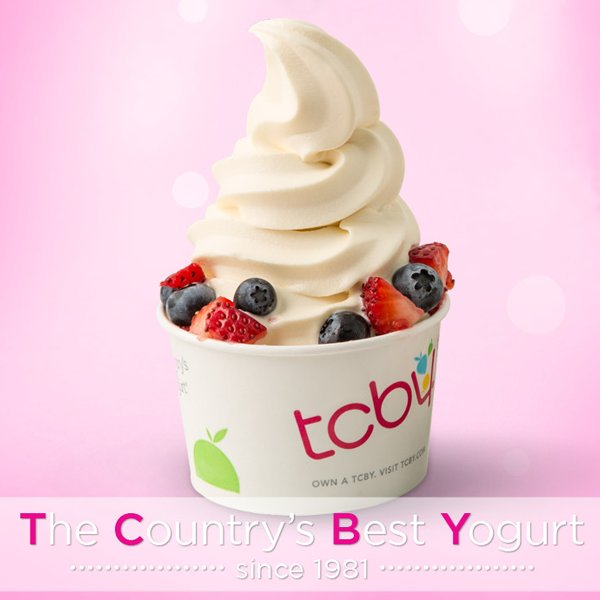 Free #TCBY anyone? Simply RT and #WIN a #FREE cup of #FroYo!  *Winner will be randomly selected in 1 week. https://t.co/SmwmJa2k7a