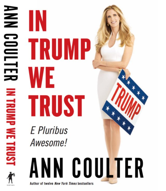 .@AnnCoulter announces new book covering Donald Trump & the 2016 campaign via @BreitbartNews https://t.co/qjUOxjOkjG https://t.co/c5YsA6wr0v
