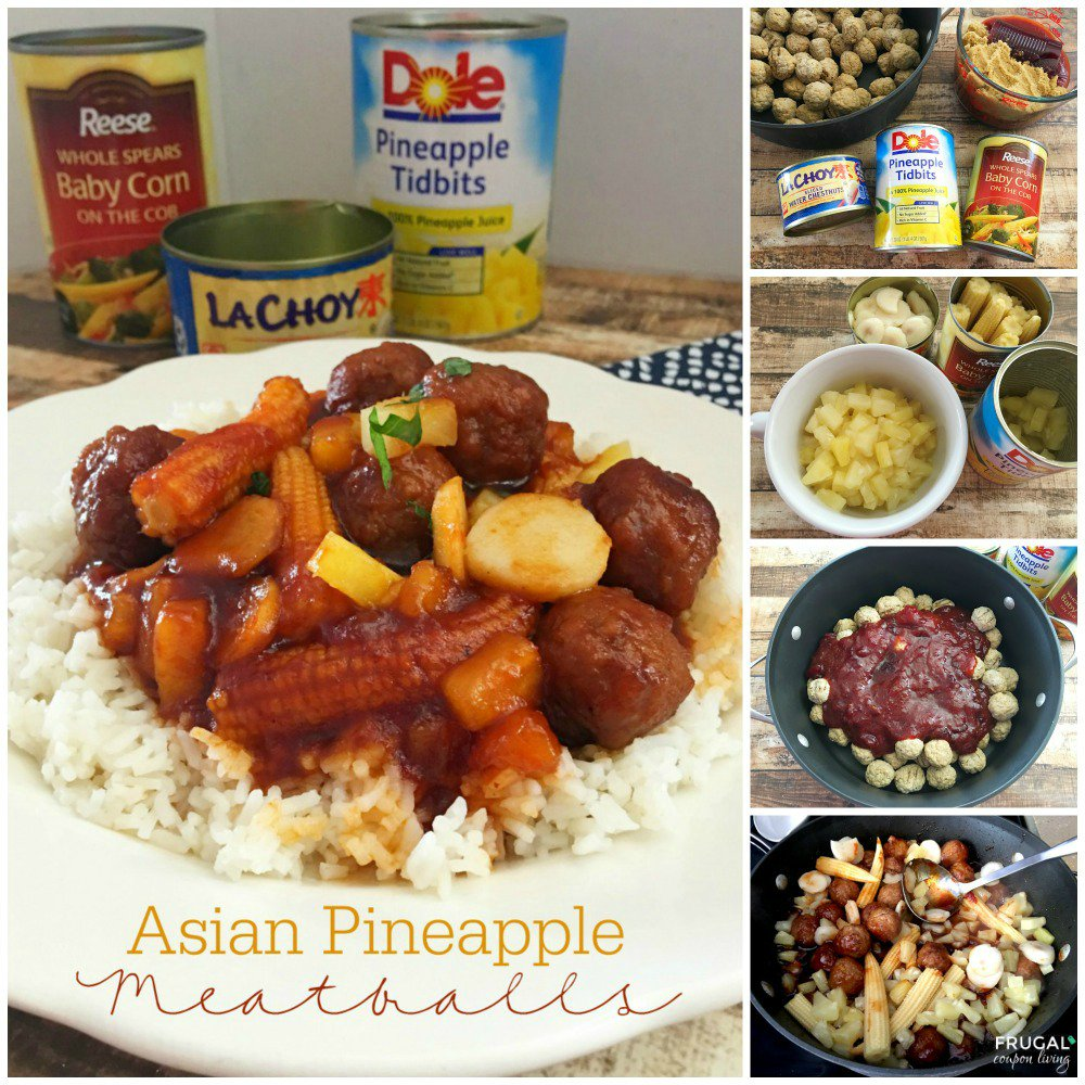 Make this over & over, Asian Pineapple Meatballs @CansGetUCooking #cansgetyoucooking #ad https://t.co/kKn3R9G4nh https://t.co/AbPANGVwzM