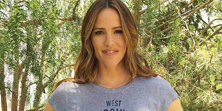 Jennifer Garner designs t-shirt to support flood relief efforts in West Virginia