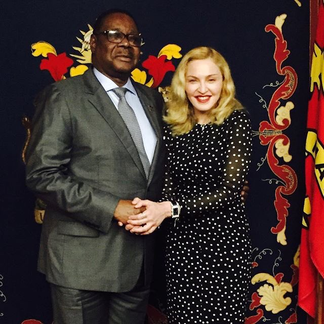 Met with His Excellency President Peter Mutharika! We discussed food security, education...https://t.co/TObicHvcKB https://t.co/xIhKIR76oM