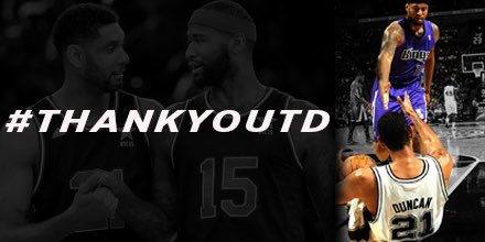Greatest PF to ever to step on the floor! #legend #ThankYouTD