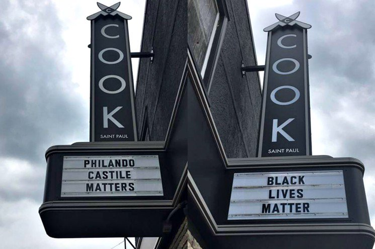 .@Cook_StPaul stands with #PhilandoCastile and Black Lives Matter https://t.co/Y5osVsj4xT https://t.co/oZqAJSxef5