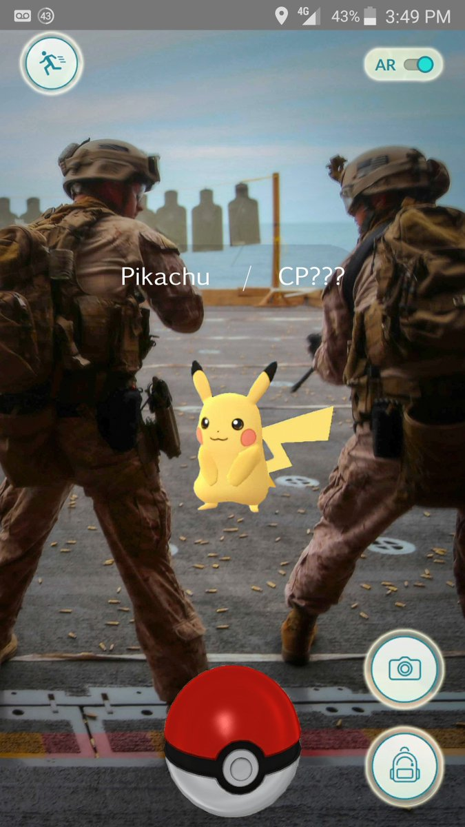 Get off the firing line, Pikachu! That's a safety violation! https://t.co/WilmXFBHlf