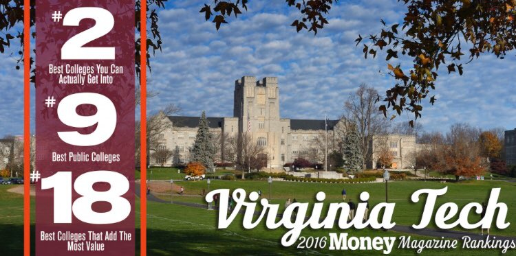why i chose virginia tech Explore virginia tech reviews, rankings, and statistics is it the right college for you.