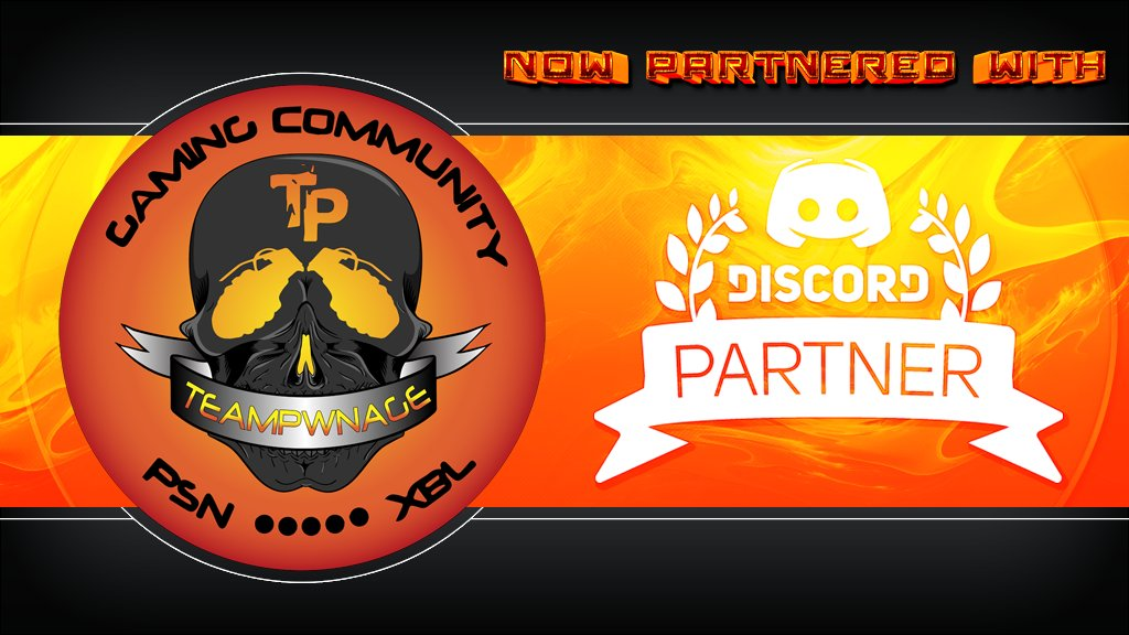 #TPwnNews : We are Happy to announce we are now Partnered with @discordapp