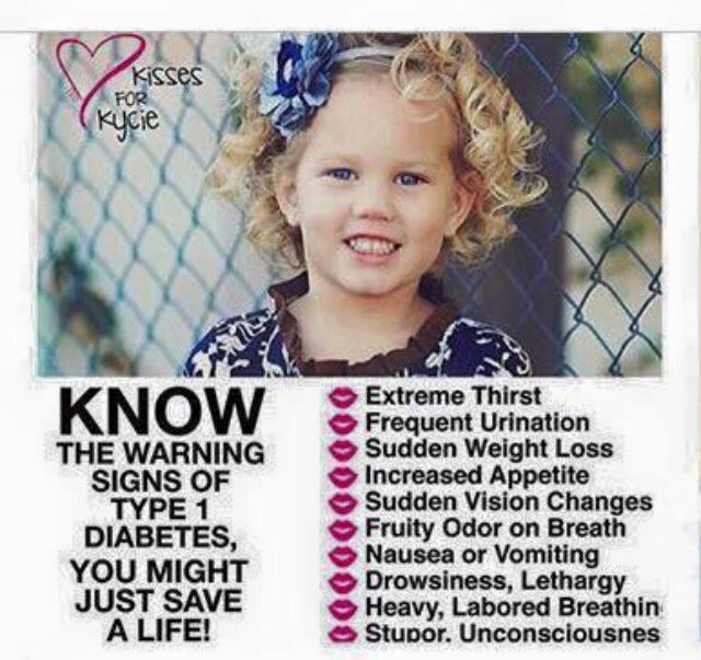 Her legacy is saving lives. #kissesforkycie  Please retweet to save lives. Type 1 diabetes can happen to anyone #T1D https://t.co/lExxG08pML