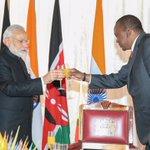 Kenya-India friendship is unique, say President Kenyatta and PM Modi