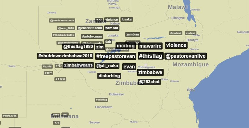 Calls to #FreePastorEvan dominate Zimbabwe's Twitter https://t.co/37DO1DYM3y @trendsmap #InternetFreedom https://t.co/8f5OVBxOSv