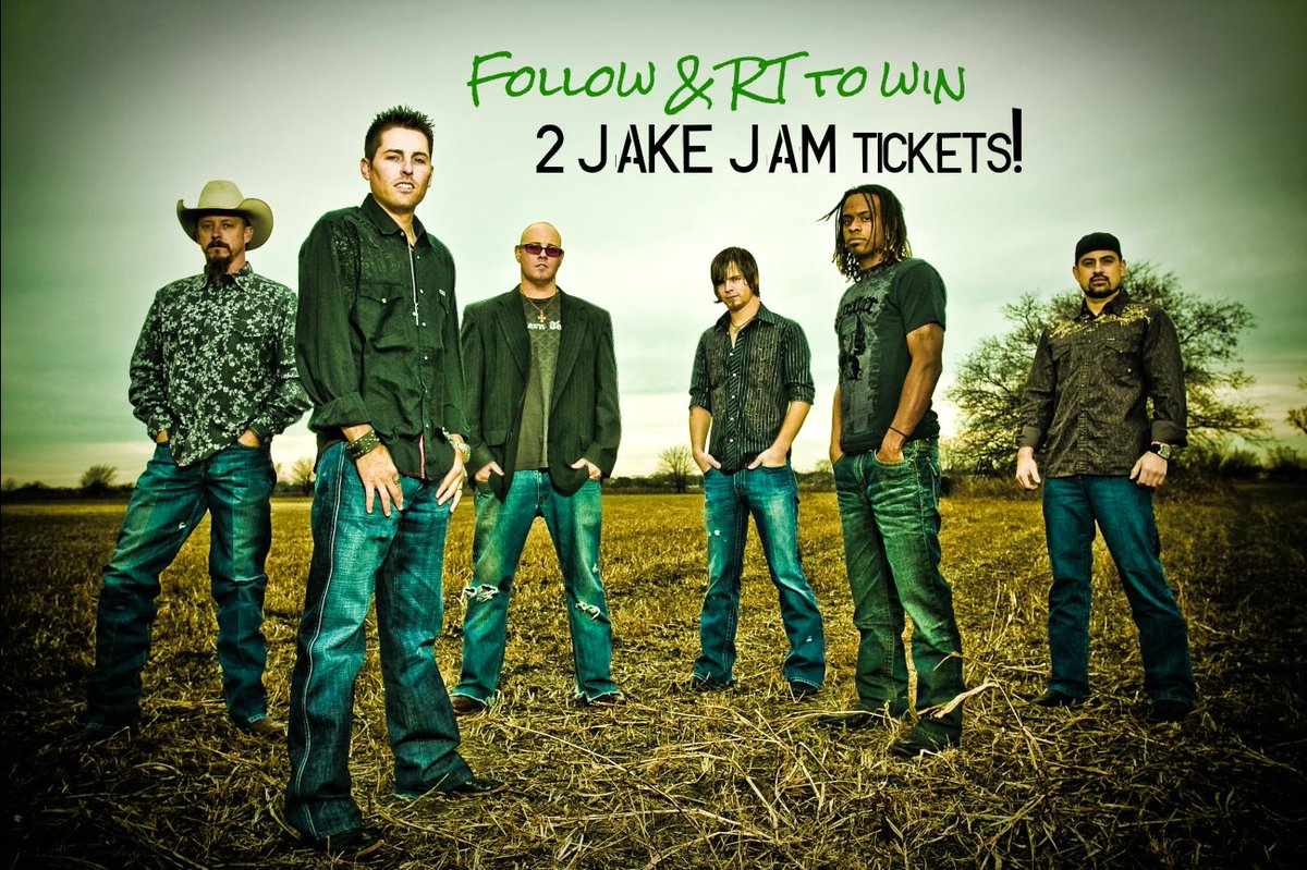 Follow us and RT to win a pair of tickets to #JakeJam! Party with us, @933JAKEFM and @CaseyDonahew July 30th!