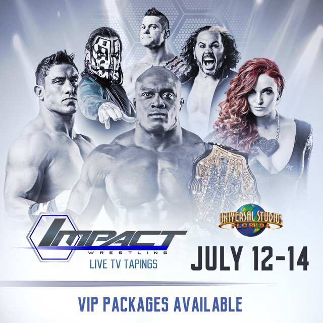 For all of you in the Orlando area, come on out & support @IMPACTWRESTLING live tonight on @PopTV ! #123 https://t.co/WwQ23Otp0v