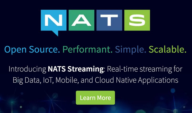 The @nats_io family has grown! introducing NATS Streaming. Great job by the whole team! https://t.co/B9ShIC4tXw https://t.co/k8mnZ6lbZX