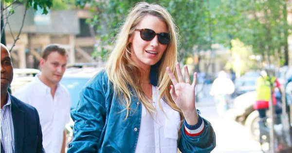 Even Blake Lively's errand-running outfit is perfection.