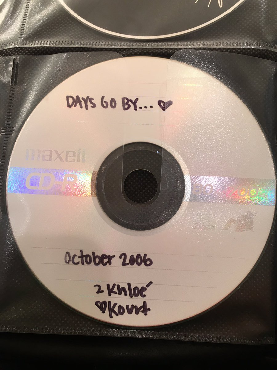 Remember these days? The good old days. Love through a mix CD https://t.co/vNZm88pEfp