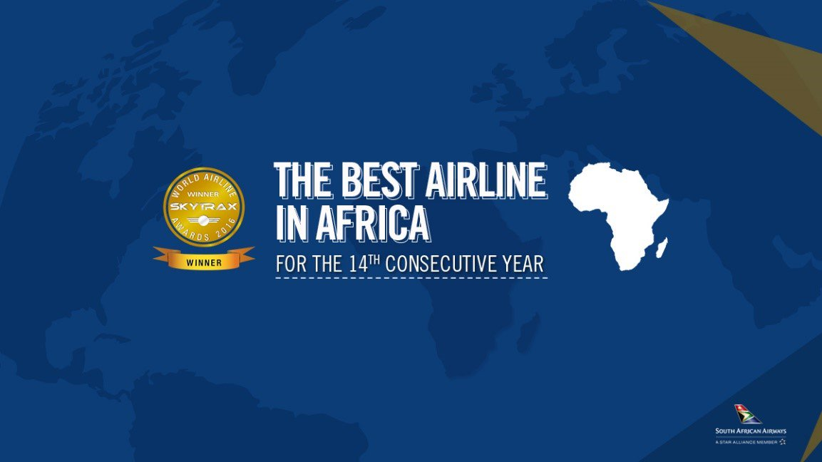 A big thank you to all our passengers & staff for voting #FlySAA Best Airline in Africa. https://t.co/x8oQjifuPc https://t.co/6jRGxlFfNF