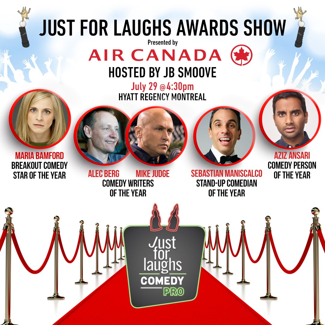 Award Recipients Announced! RT for a chance to win a pair of tix to #JFLMTL Awards Show compliments of @AirCanada! https://t.co/mamfi4EEep