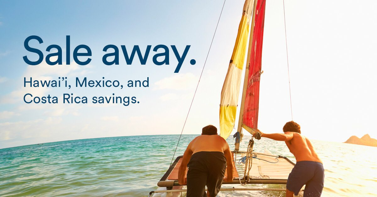 Sale away! Flightdeals to Hawai'i, Mexico & Costa Rica. Where would you go?