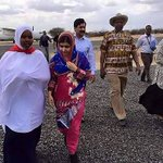 Youngest Nobel laureate Malala in Kenyan refugee camp for her 19th birthday