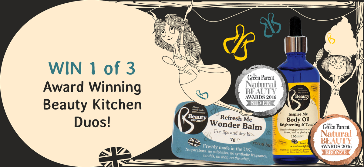 To celebrate @BeautyKitchen winning 2 Green Parent Awards, share with us your golden natural beauty tip to #win! https://t.co/wV8hLYMKQz