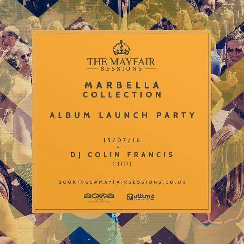 Me & @DJColinFrancis are turnin' @AqwaMist upside down for the #MarbellaCollection Album Launch Party THIS FRIDAY!!! https://t.co/vjwrfC0C6U