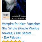 ♨ #New #VAMPIRES SHE WROTE♨ #FANG #SamanthaMoon @KindleWorlds #Bestseller #fantasy https://t.co/unntP9qCod https://t.co/dSFkc7D07m