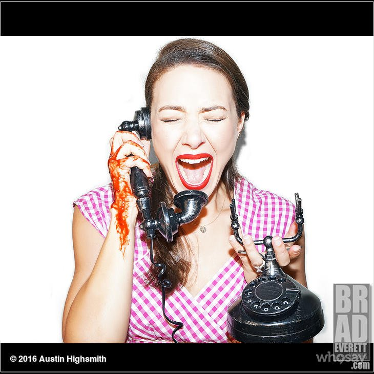 """If @MTVScream was set in the '60's... See what happens when Ms Lang gets """"a call"""" tonight 10p/9c"""