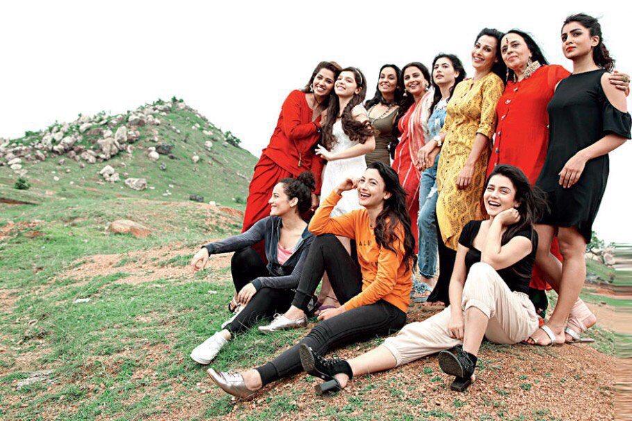 League of extraordinary gentlewomen!#BegumJaan https://t.co/ycutWMUmzh